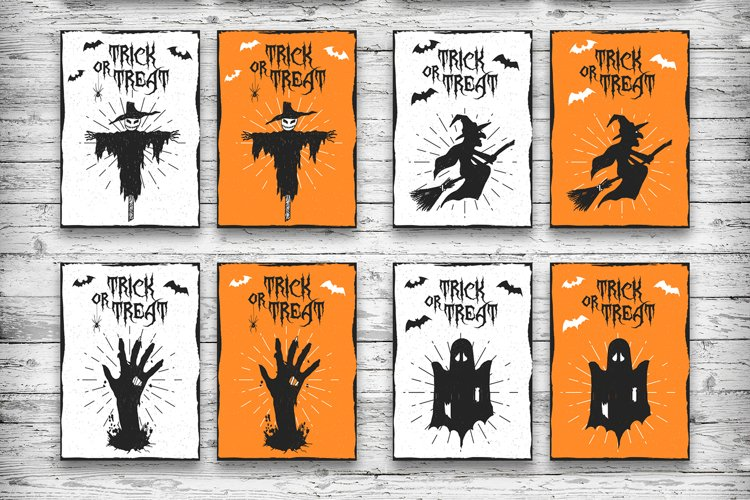 Halloween. 20 Greeting Cards - Free Design of The Week Design5