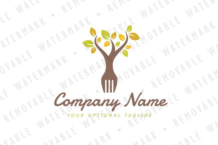 Organic Food Logo example image 1