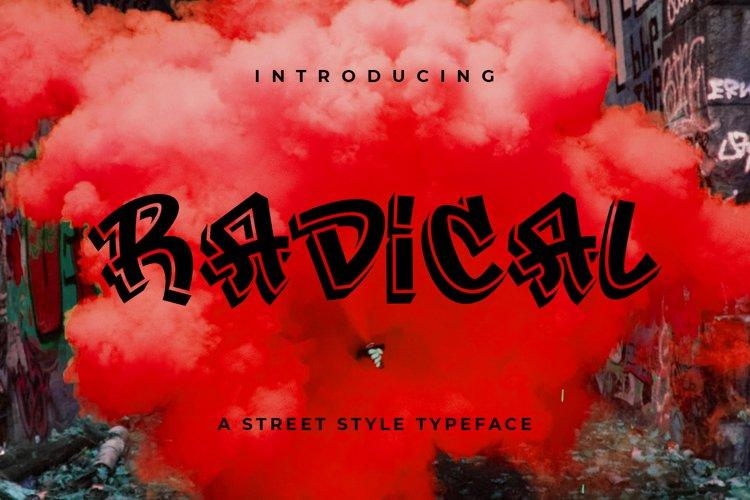 Radical example image 1