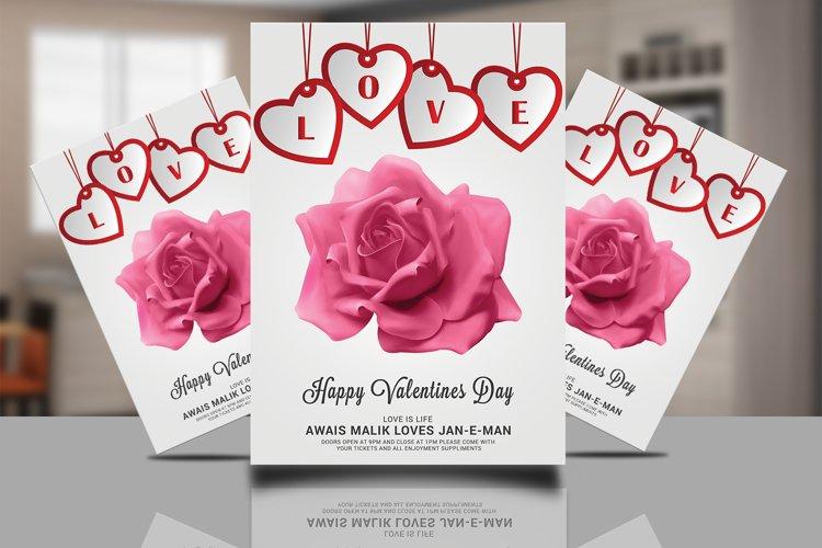 Valentines Invitation Card example image 1