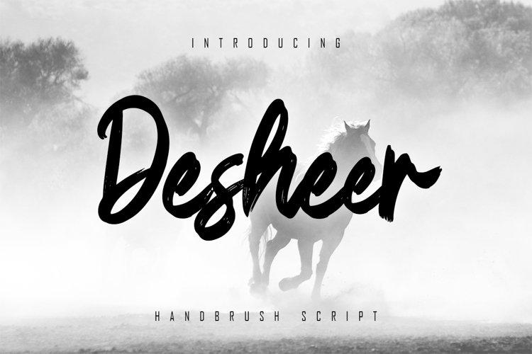 Desheer - Handbrush Script example image 1