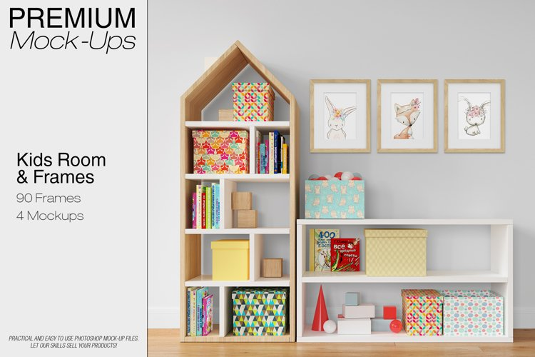 Kids Room - Wall & 90 Frames example image 1