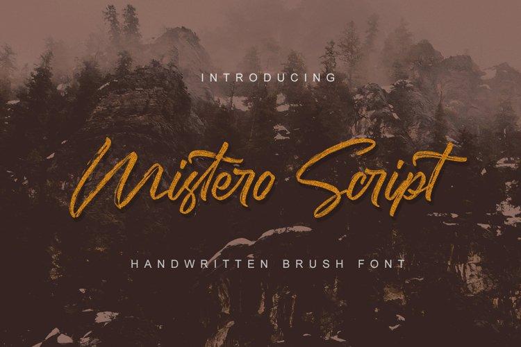 Mistero Script example image 1