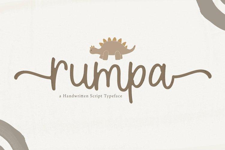 Web Font Rumpa example image 1