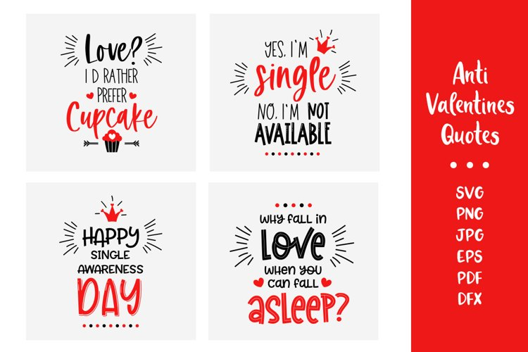 anti valentine svg Hate valentine svg Valentines bundle