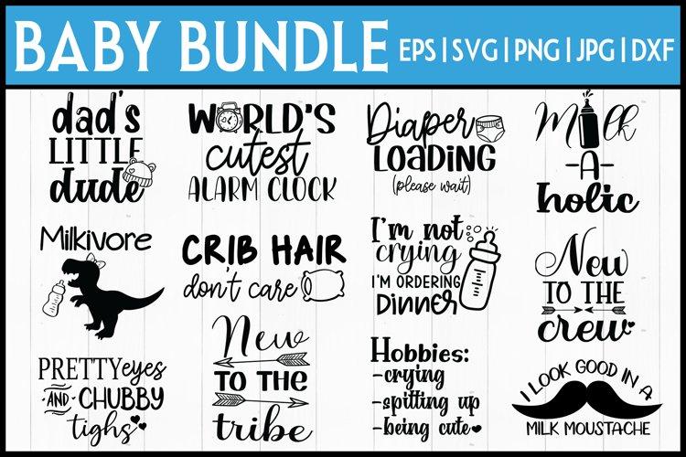 Baby Onesie Bundle| Baby SVG Bundle- 12 DESIGNS!