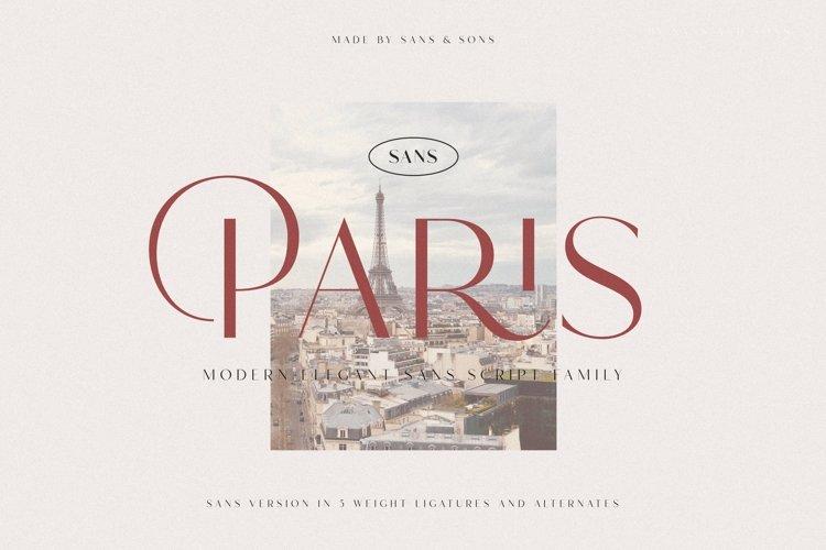 Hello Paris Sans - Modern Elegant Family example image 1