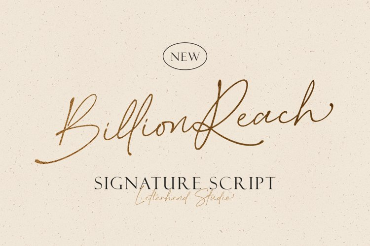 Billion Reach - Signature Script example image 1