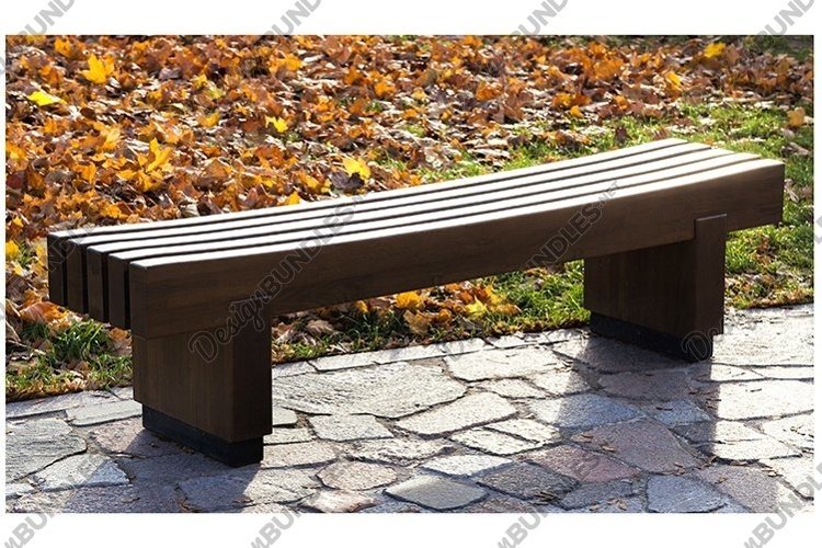 wooden bench example image 1