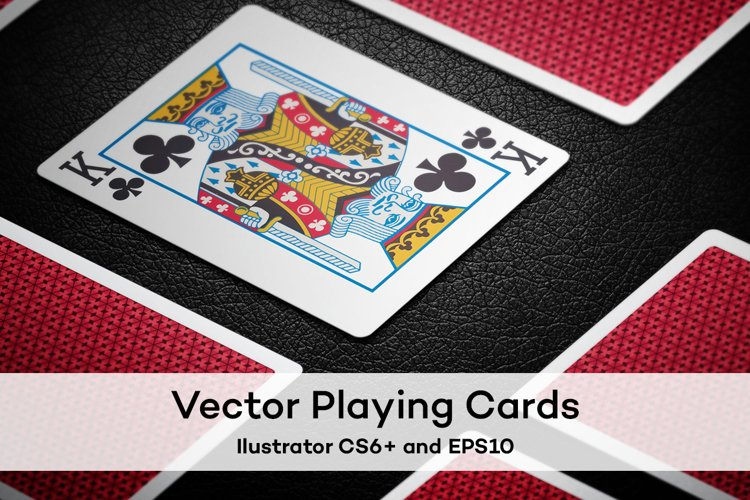 Vector Playing Cards // Full deck example image 1