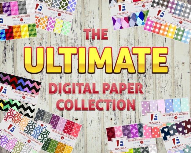 The ULTIMATE Digital Paper Bundle