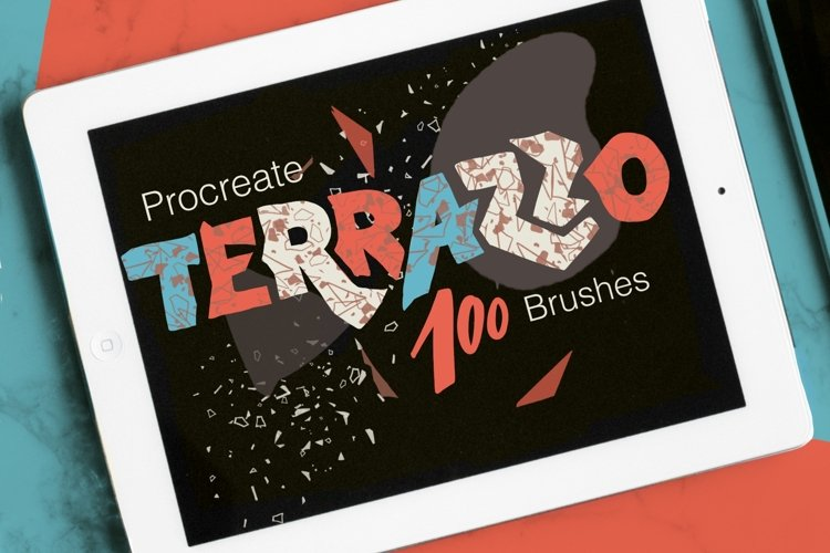 Abstract Terrazzo Collage kit