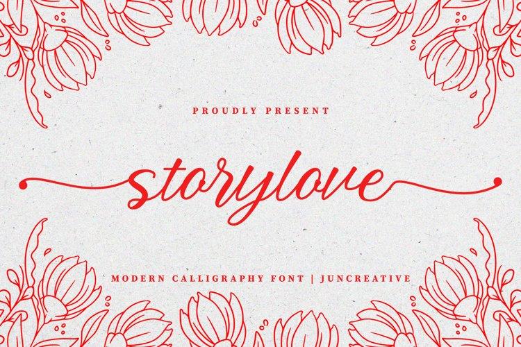Storylove Script example image 1