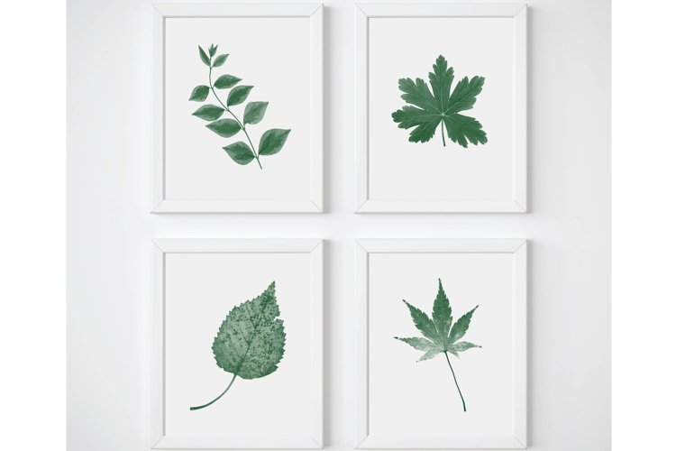 Botanical Print Set, Living Room Wall Art, Plant Wall Art
