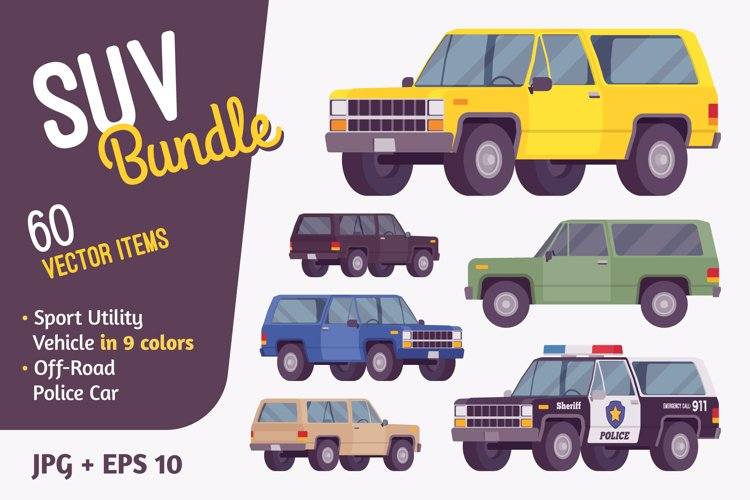 Offroad vehicle bundle road vehicle