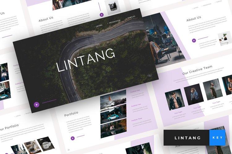 Lintang - Creative Keynote Template example image 1