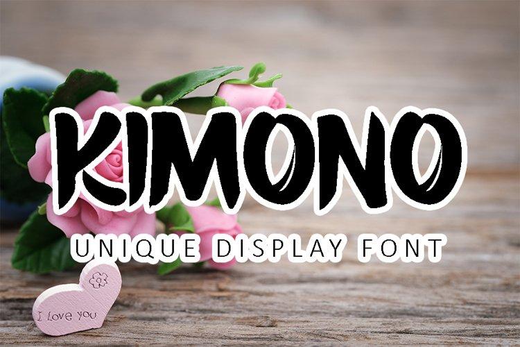 Kimono example image 1