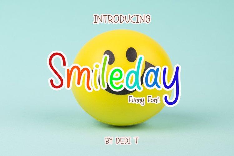 Smileday Fun Font