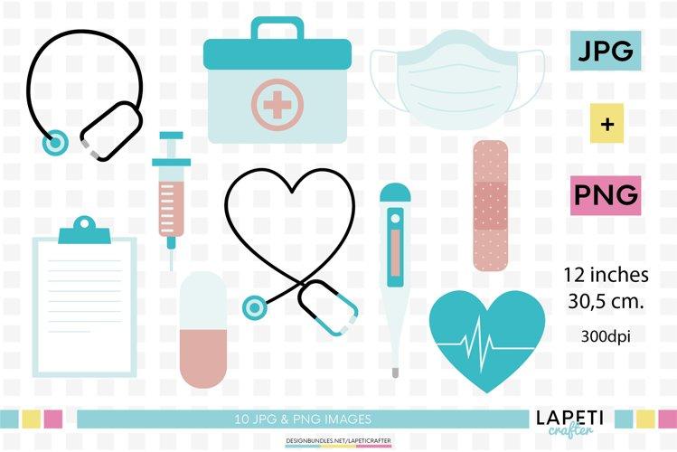 Medical clipart, quarantine clipart, nurse illustrations