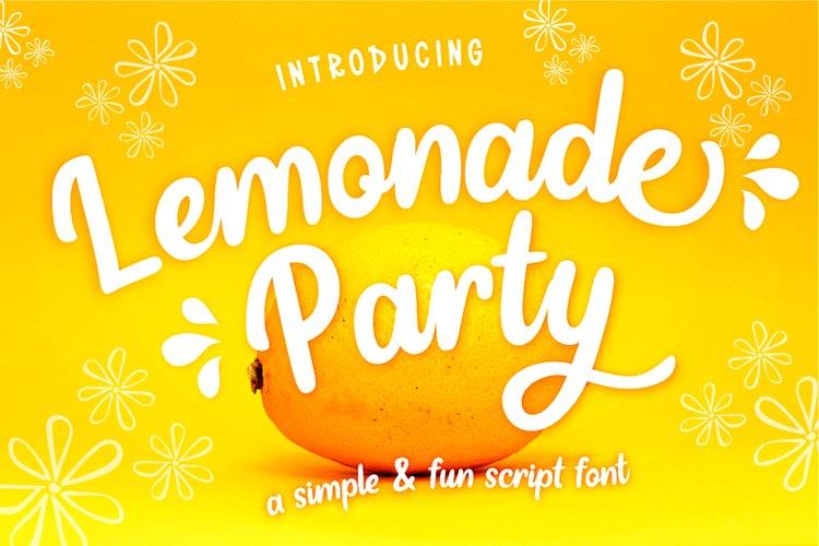 Lemonade Party example image 1