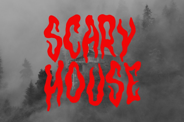 Horror Fonts | Hantu By tomatstudio example image 1