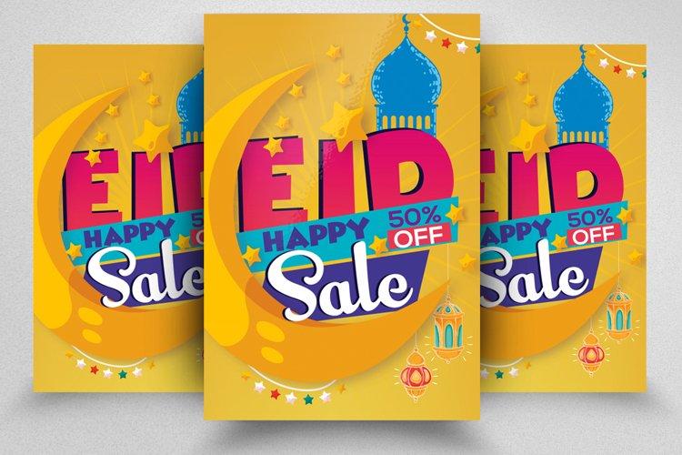 Eid Sale Offer Promotion Flyer example image 1