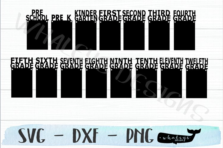 School Picture Graduation Banner, High School Senior SVG example image 1