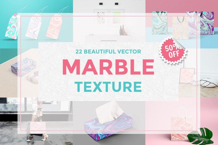 Set Marble Vector Textures
