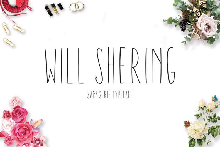 Willshering Sans example image 1