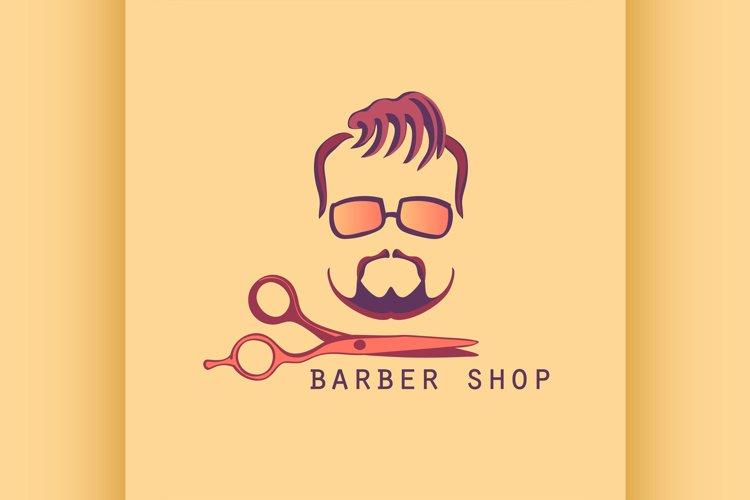 Vintage Barber Shop Label example image 1