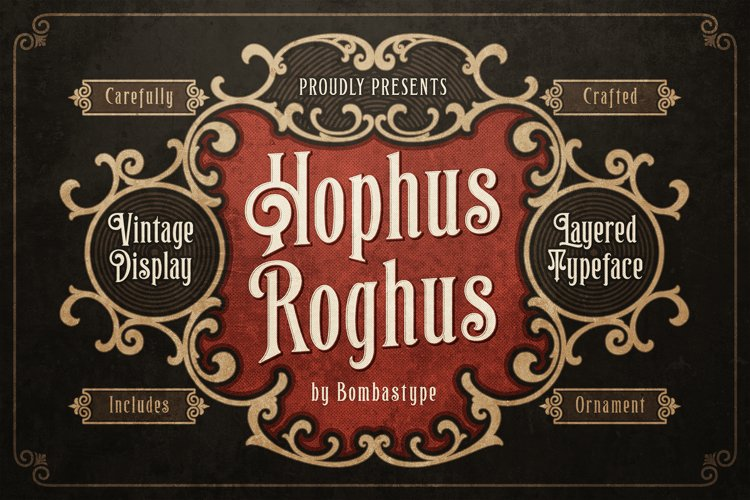 Hophus Roghus - Layered & Ornaments example image 1