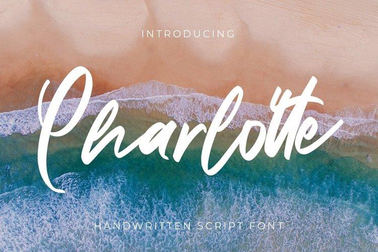 Web Font Charlotte - Script Fonts example image 1