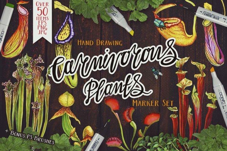 Carnivorous Plants Marker Set example image 1