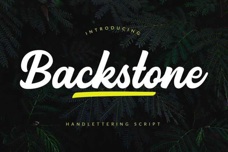 Backstone example image 1