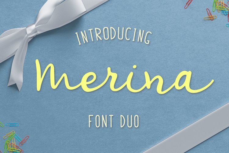 Merina Font Duo example image 1