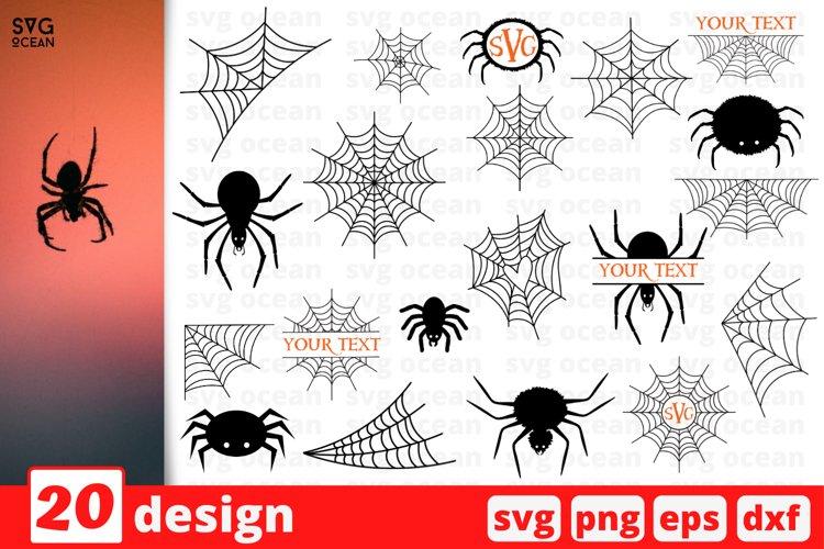 Spider SVG Bundle | Spider web cricut | Spider Monogram svg