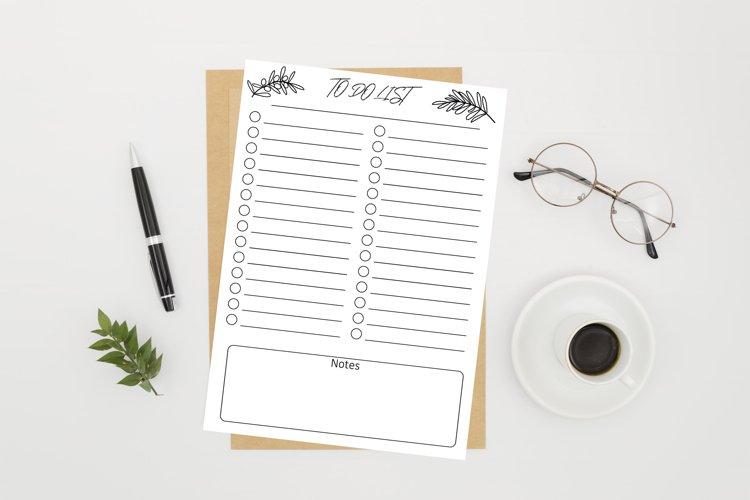 Printable Planner TO-DO List