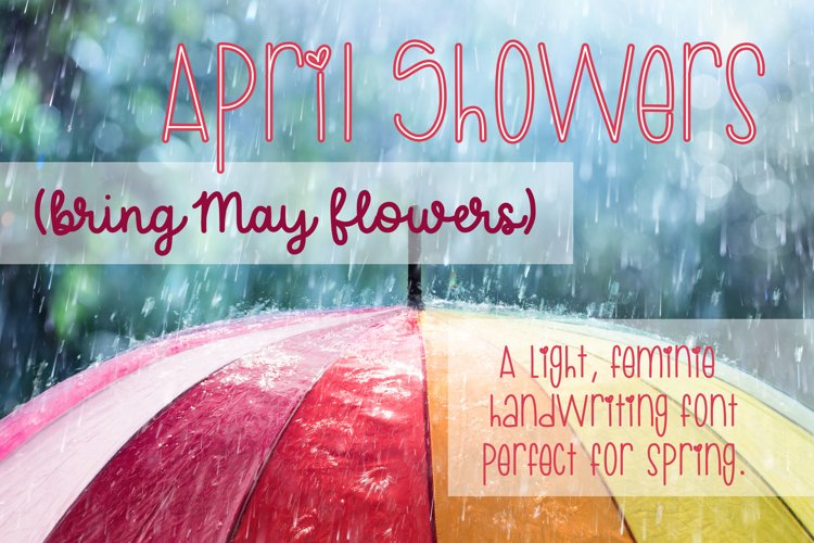 April Showers example image 1