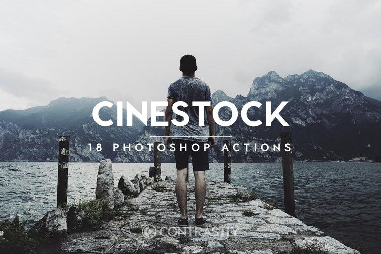 CineStock Photoshop Actions example image 1
