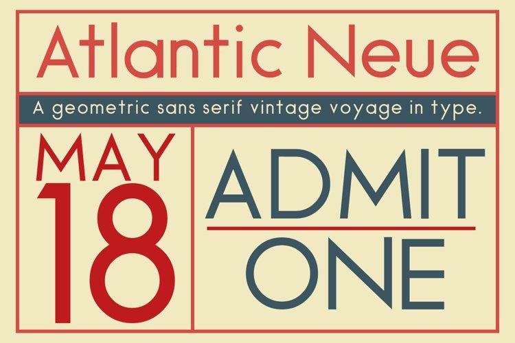 Atlantic Neue example image 1