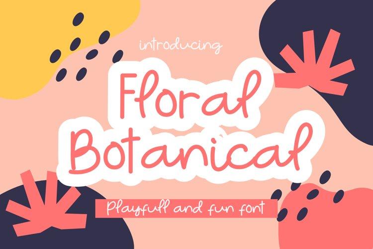 Floral Botanical example image 1