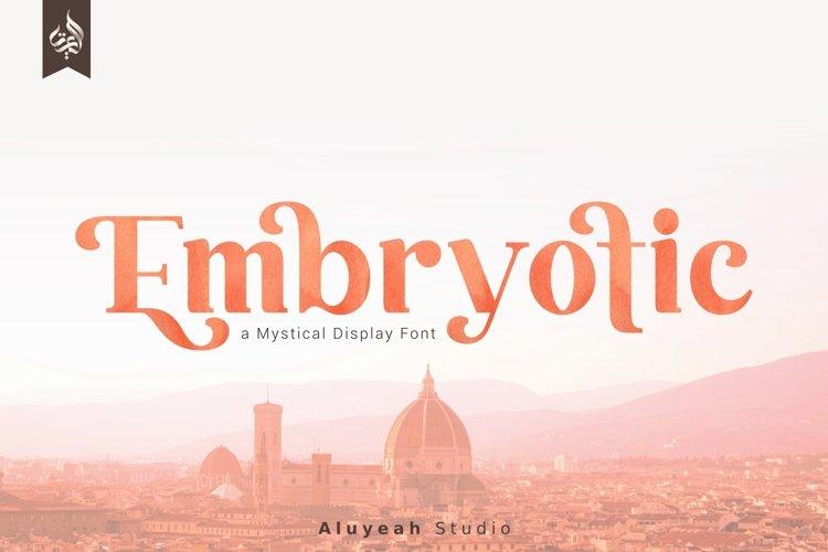 AL Embryotic example image 1
