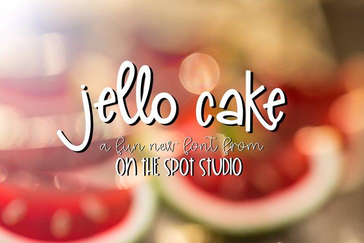 Jello Cake example image 1