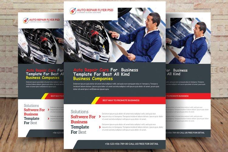 Auto Repair Flyer example image 1