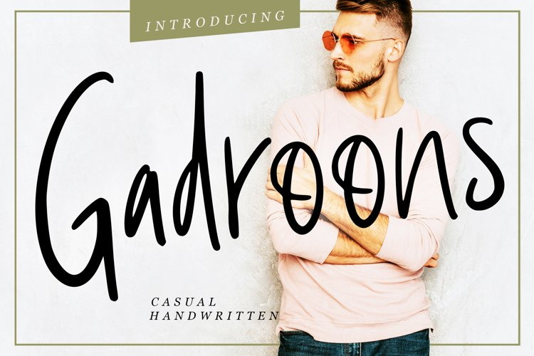 Gadroons Casual Handwritten example image 1