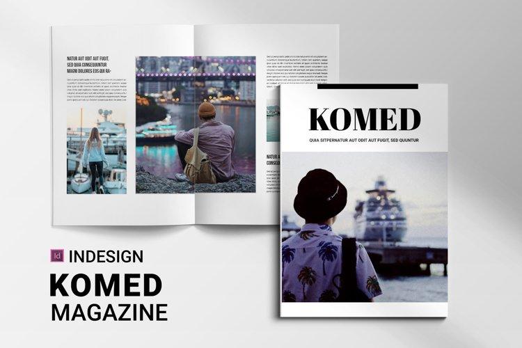 Komed | Magazine example image 1