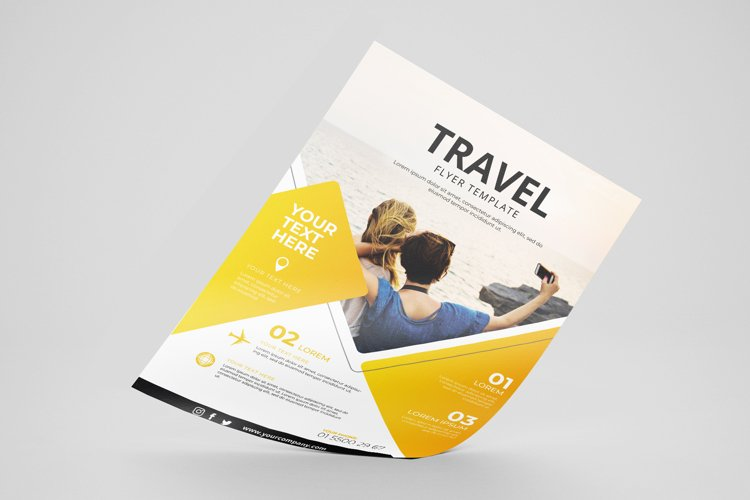 Travel Flyer Vol. 01 example image 1