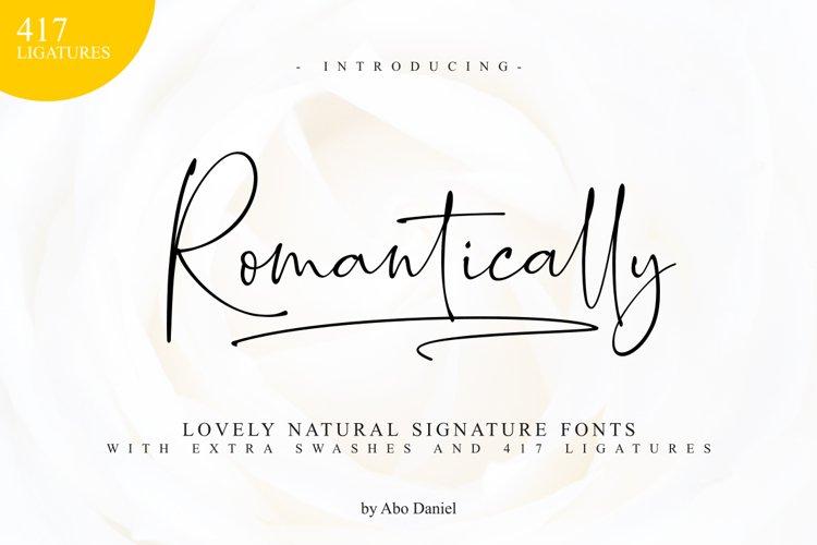 Romantically - Lovely Signature -