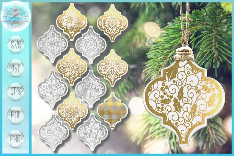 Arabesque Bundle | Lantern Tile Ornament Mandala SVG