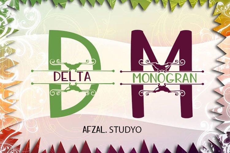 Delta Monogram example image 1